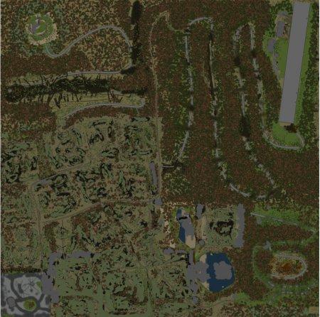 Скачать мод карта «Аэропорт» для Spintires v. 03.03.16
