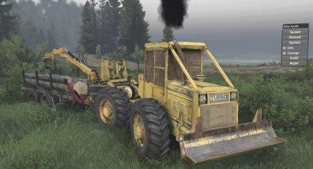 Скачать мод трактор LKT81 Turbo для Spintires v. 03.03.16