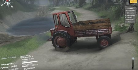 Скачать мод Трактор T16 для Spintires v. 03.03.16