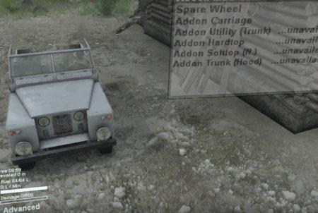 Скачать мод Rover Classic для Spintires v. 03.03.16