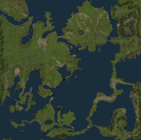 Скачать мод карта «Heavens Gate» для Spintires v. 03.03.16