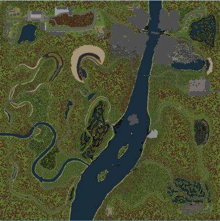 Скачать мод карта «North Star» для Spintires 03.03.16