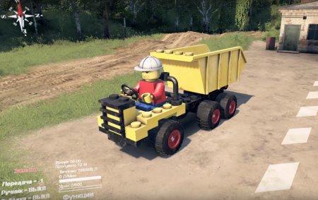 Скачать мод грузовик Lego Classic для Spintires v. 03.03.16