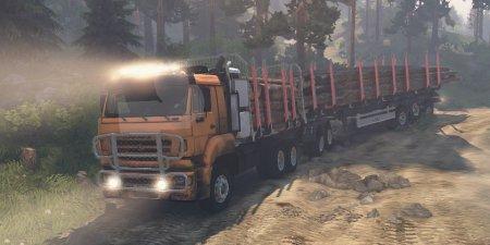 Скачать мод ПАК грузовиков с заменой и правдоподобными тех.хар-ми v2.9 для Spintires 03.03.16: 25.12.15