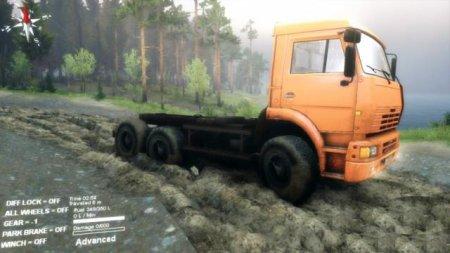 Скачать мод грузовик Камаз 6522 для Spintires 13.04.15+