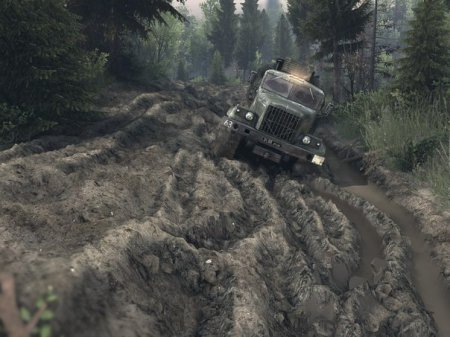 Карта Жуткие дороги - Level_Terrible_Road для SpinTires 13.04.15+