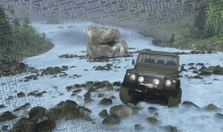 Карта Tail Waters для SpinTires