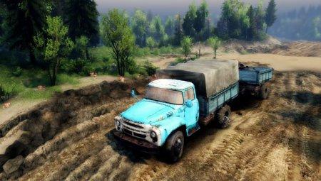 Скачать мод грузовик ZIL-130 V1.4 – SPIN TIRES 2014
