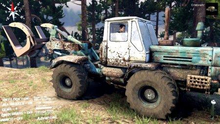 Скачать мод трактор T-150K для SpinTires 13.04.15