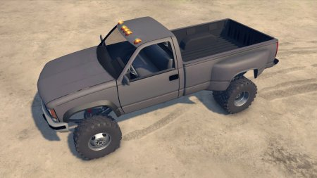 Скачать мод 95 Chevy Regular Cab Dually для Spin Tires 2014