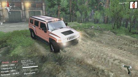 Скачать мод Hummer h3 для Spintires 13.04.15+