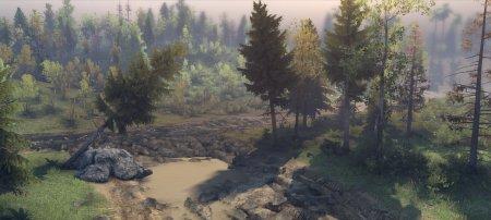 Карта Долина v2 для SpinTires 13.04.2015