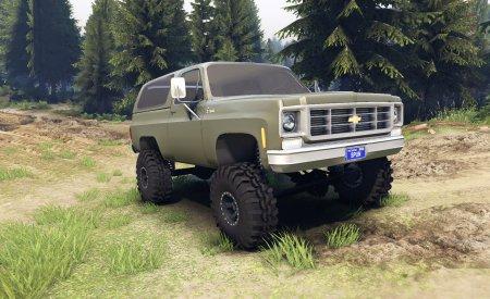 Скачать мод 1975 Chevrolet k5 blazer 1.0 для Spintires 13.04.15+