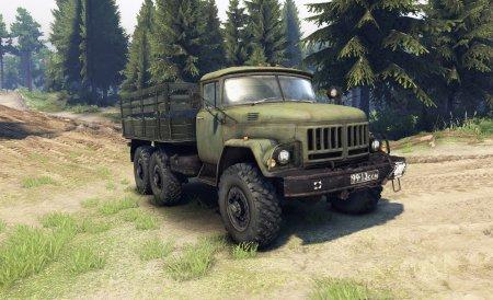 Скачать мод грузовик ЗиЛ-131 v 2.1 для Spintires 13.04.15+