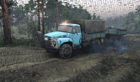 Скачать мод грузовик Zil goodies для Spintires