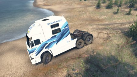 Скачать мод грузовик Камаз 54112 Riat beta для Spintires