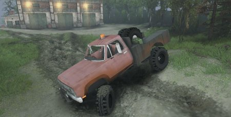Скачать мод B-17Rocks Dodge Power Wagon W.I.P 1 для Spintires 13.04.15+
