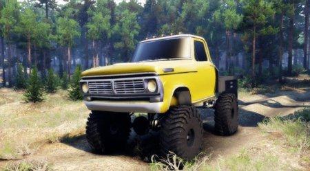 Скачать мод Ford F100 v.1.1 для Spintires 13.04.15+