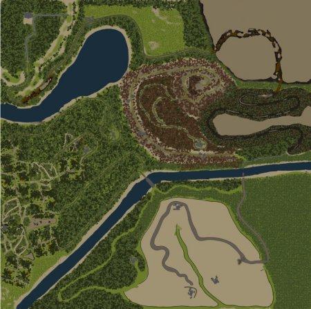 Карта b1 для SpinTires 13.04.15