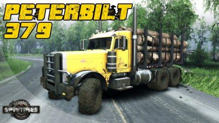 Скачать мод грузовик Brute Peterbilt 379 v1.0 для Spintires 19.03.15+