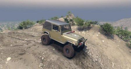 Скачать мод SID 1987 Jeep YJ v1.0 для Spintires 2015