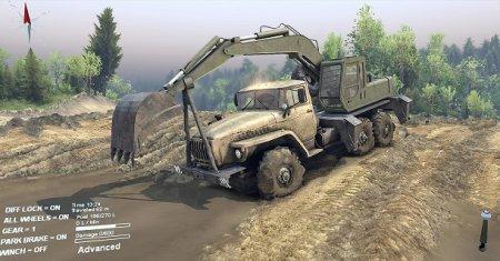 Скачать мод пак грузовиков для Spintires. v.19.03.15+
