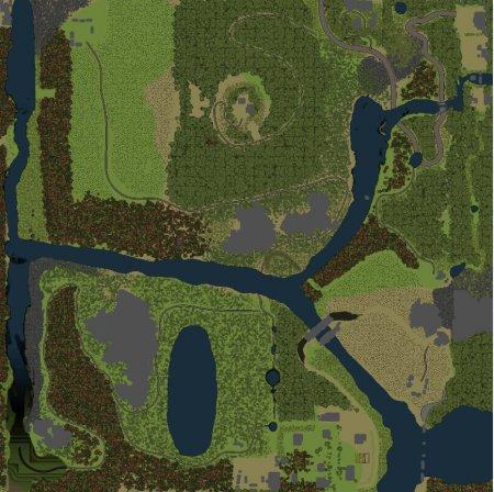 Карта BAX1 для SpinTires 19.03.15 +