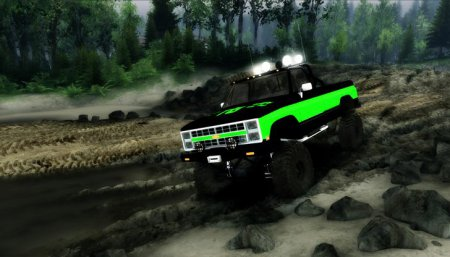 Скачать мод Chevy K20 Hunter&Terror Edition (Turtles Tweak) для Spintires 13.04.15