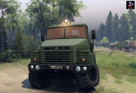Скачать мод грузовик КрАЗ 260 v.3 для Spintires 19.03.2015