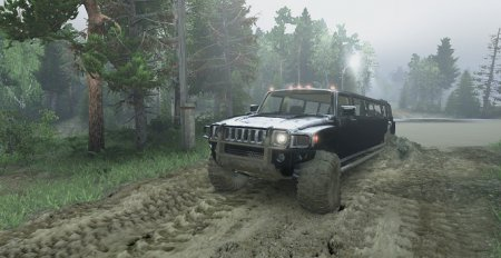 Скачать мод лимузин Hummer H3 для Spintires 13.04.15