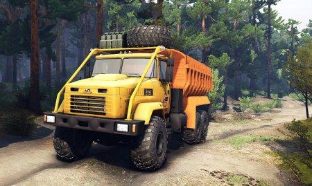 Скачать мод грузовик КрАЗ 6322 v.3 для Spintires 19.03.2015