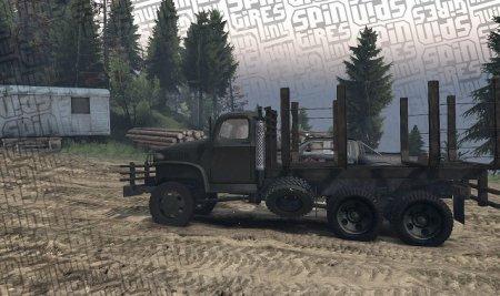 Скачать мод грузовик Deuce Logging для Spintires 19.03.15