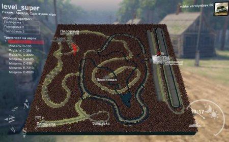 Карта Level_Super для SpinTires 19.03.15