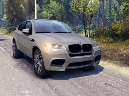 Скачать мод BMW X6M v.2.0 для Spintires 19.03.15