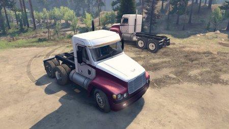 Скачать мод грузовик Freightliner Century Day Cab версия 1.0 для Spintires