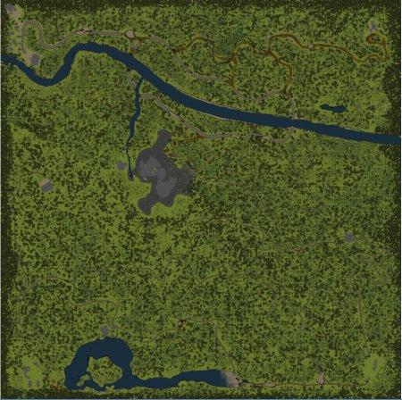 Карта гора два брата для SpinTires 09.03.15