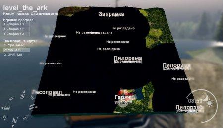 Карта The_Ark для SpinTires 4.2.15 и 9.3.15