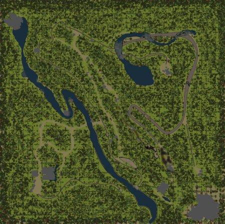 Карта хребет для SpinTires 09.03.15