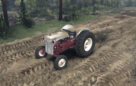 Скачать мод трактор Ford 8N tractor для Spintires