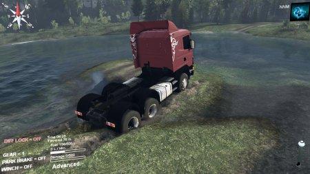 Скачать мод грузовик scania r420 v(1.0) для Spintires 19.03.15