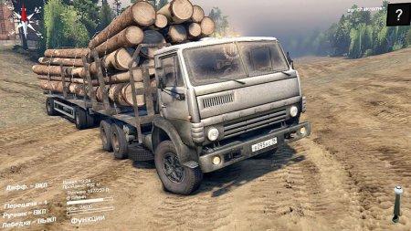 Скачать мод грузовик КамАЗ 55102 v4.0 для Spintires 19.03.2015