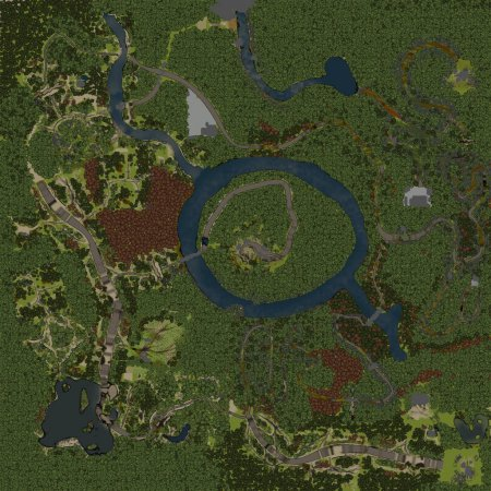Карта level_Nagorno для SpinTires 19.03.15