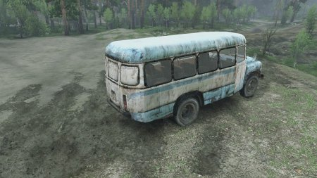 Скачать мод автобус КАВЗ 685 для Spintires