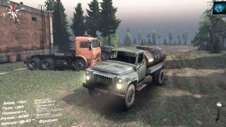 Скачать мод грузовик Газ 53 для Spintires