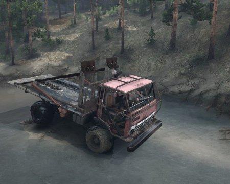 Скачать мод грузовик Камаз Монго