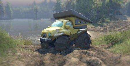 Скачать мод грузовик игрушечный самосвал Tonka для Spintires 2015