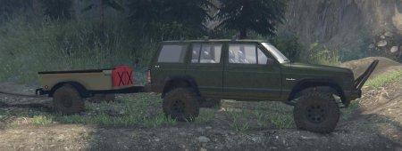 Скачать мод 88 Jeep Cherokee V1.0 для Spintires 2014