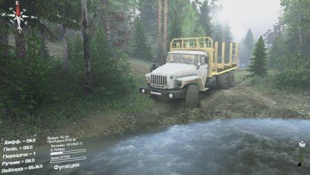 Скачать мод грузовик Урал 4320-30 для Spintires