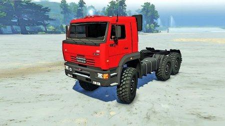 Скачать мод грузовик КамАЗ-65221 для Spintires v. 03.03.16