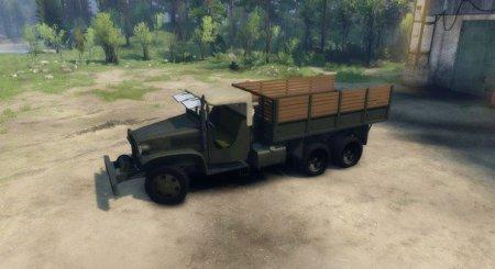 Скачать мод грузовик Deuce Soft Top для Spintires 2014
